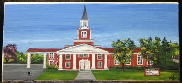 Chapel in Portal Village, Port Colborne, Ontario